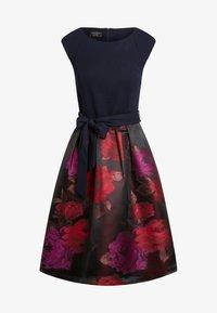 Apart - Robe de soirée - bordeaux-multicolor - 5