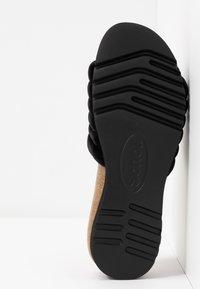 Scholl - MYA  - Domácí obuv - black - 6