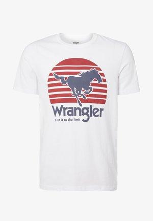 SS HORSE - T-shirt med print - white