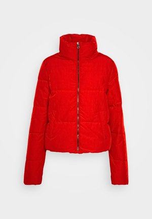 ONLDOLLY PUFFER JACKET - Vinterjakker - mars red