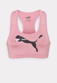 4KEEPS BRA - Medium support sports bra - foxglove/pearl pack