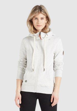 WANARI - Zip-up hoodie - hellgrau meliert