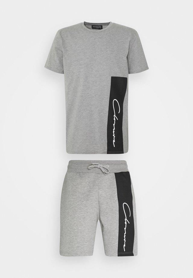 VERTICAL SCRIPT TWINSET - Trainingsanzug - grey