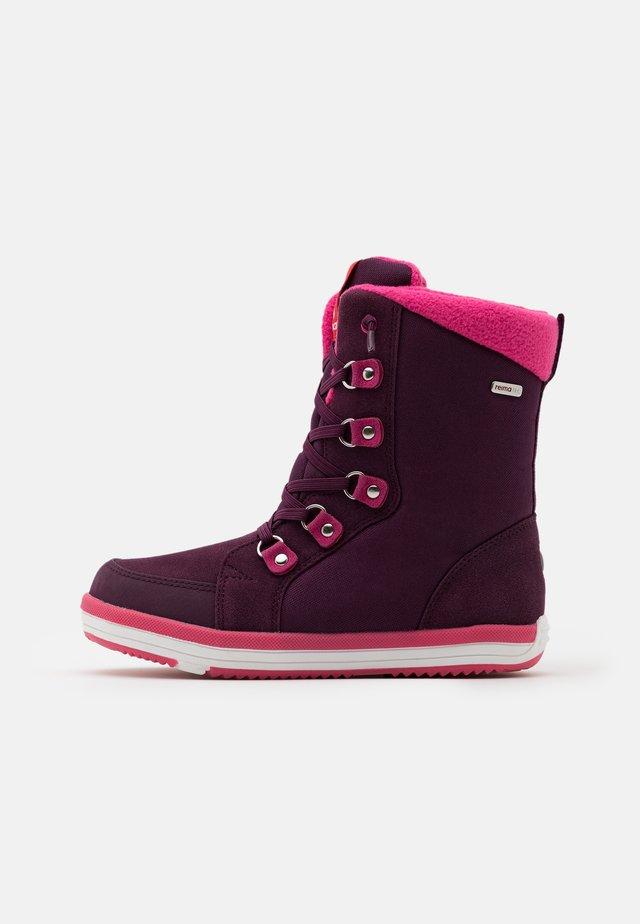 REIMATEC FREDDO UNISEX - Stivali da neve  - deep purple
