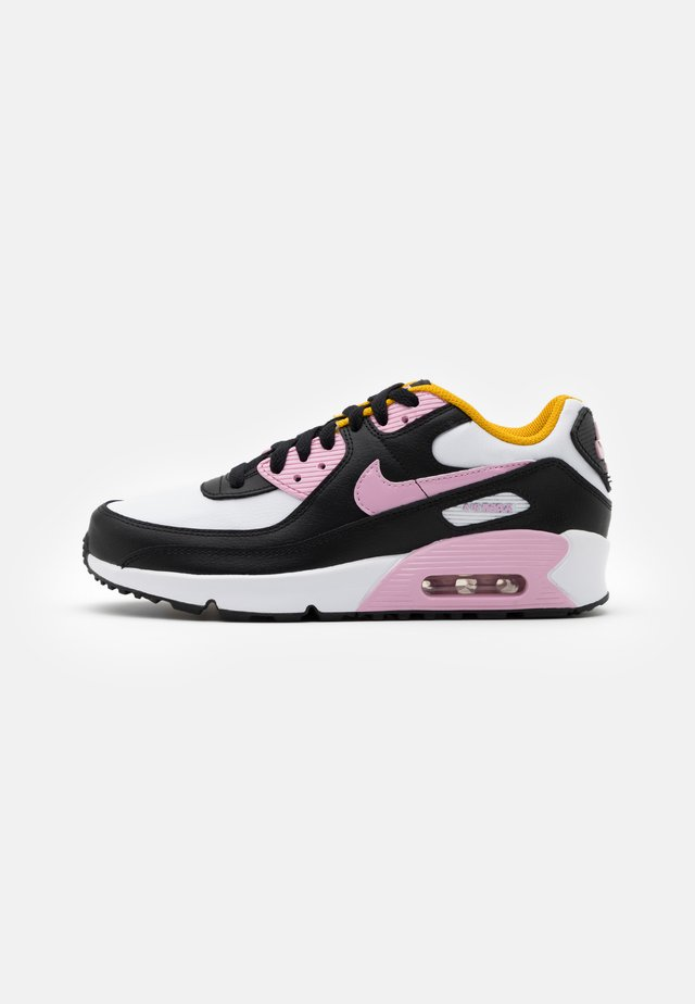 AIR MAX 90 LTR GS - Sneakers laag - black/light arctic pink/white/dark sulfur