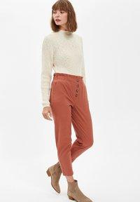 DeFacto - Trousers - bordeaux - 3