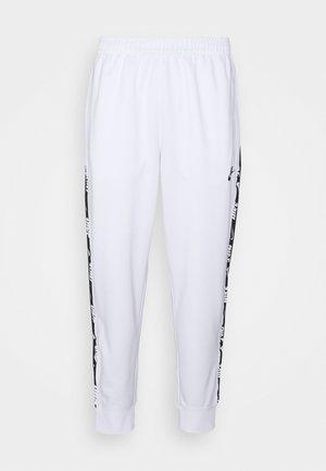 REPEAT - Træningsbukser - white/black