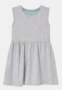 Lemon Beret - SMALL GIRLS 2 PACK - Jersey dress - light grey melange - 2