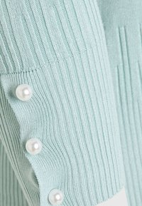 Dorothy Perkins Petite - PEARL CUFF CREW NECK JUMPER - Svetr - blue - 5
