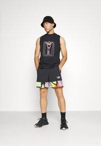 adidas Originals - LOVE UNITES UNISEX - Top - black/multicolor - 4