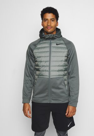 Veste de survêtement - smoke grey/smoke grey/black