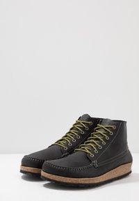 Birkenstock - MARTON - Lace-up ankle boots - black - 2