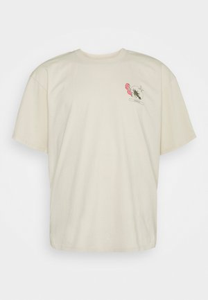 TAROT DECK - T-Shirt print - pelican/garment wash