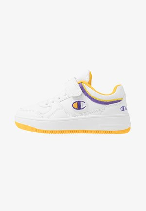 LOW CUT SHOE REBOUND UNISEX - Basketbalové boty - white/yellow