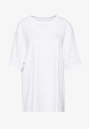 EASY - T-shirts med print - white