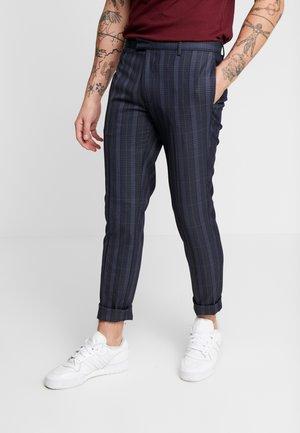 SHERB  CROP - Kalhoty - blue