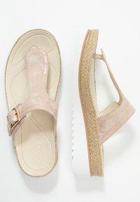 Gabor - Sandály s odděleným palcem - rame - 3