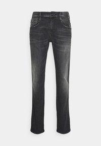 ANBASS AGED  - Straight leg jeans - dark grey