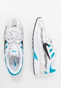 Nike Sportswear - P-6000 - Sneakers - white/black/laser blue/light smoke grey/vast grey/photon dust - 4