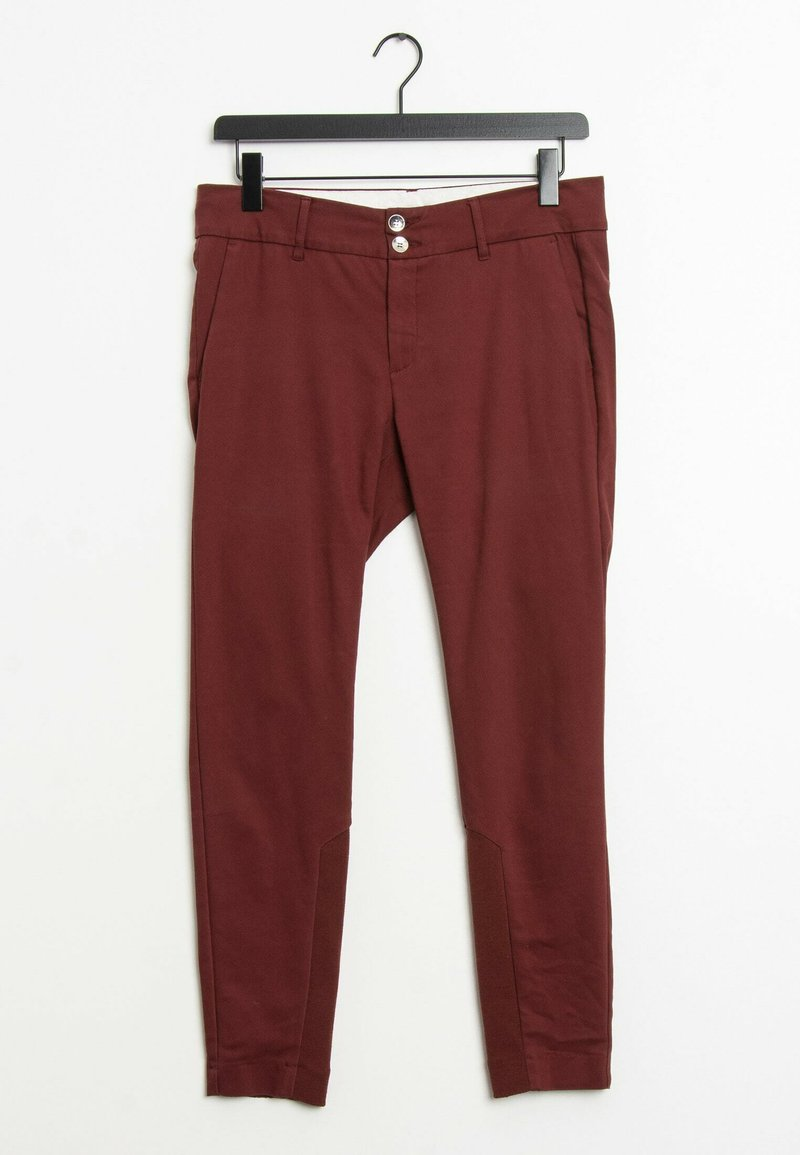 Mos Mosh - Trousers - red