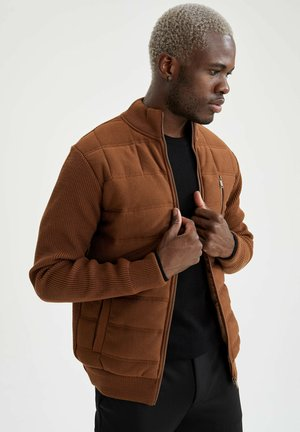 SLIM FIT  - Light jacket - brown