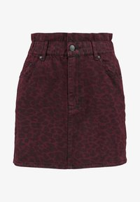ZIGGY Denim - CINCH IT SKIRT - Denim skirt - wine - 4