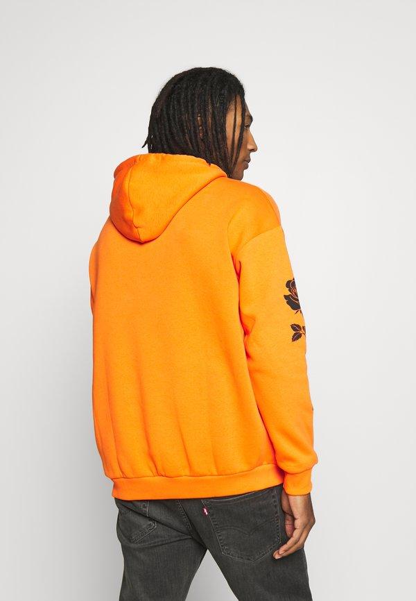 YOURTURN UNISEX - Bluza z kapturem - orange/pomarańczowy Odzież Męska CIQI