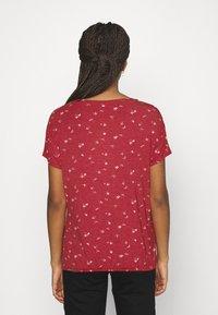 Ragwear - PECORI - Print T-shirt - red - 2