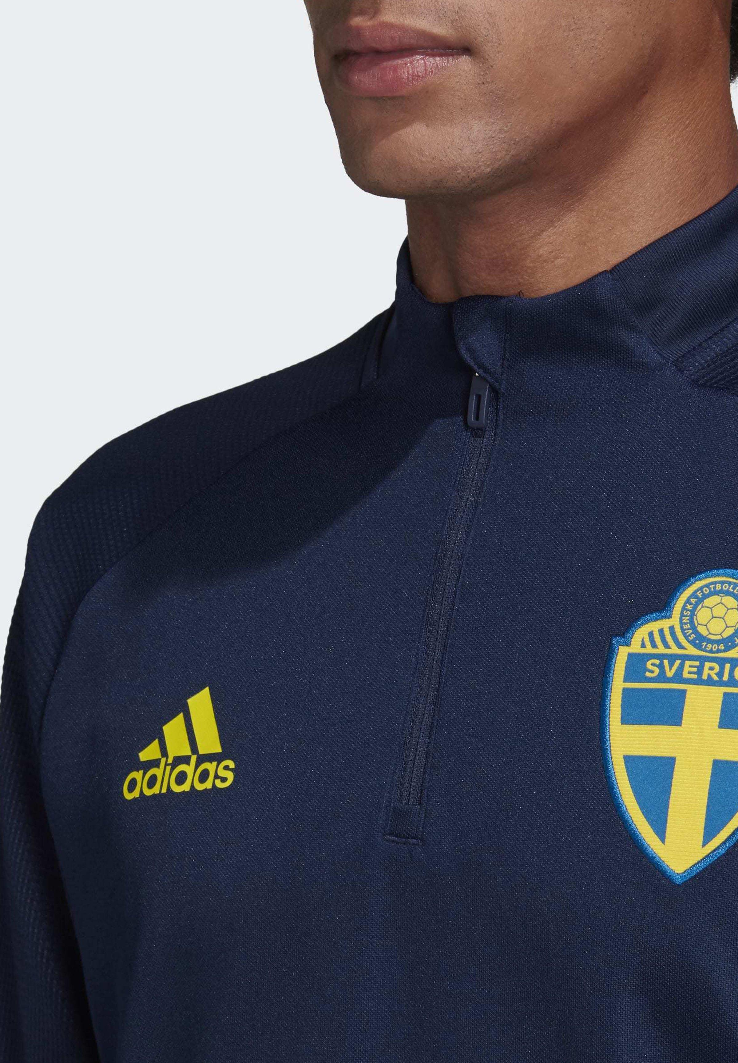 Schweden Hoodie Sweatjacke Adidas SVFF Navy