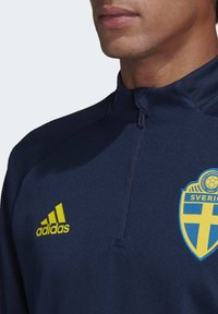adidas Performance - SWEDEN SVFF TRAINING SHIRT - Koszulka reprezentacji - blue - 3