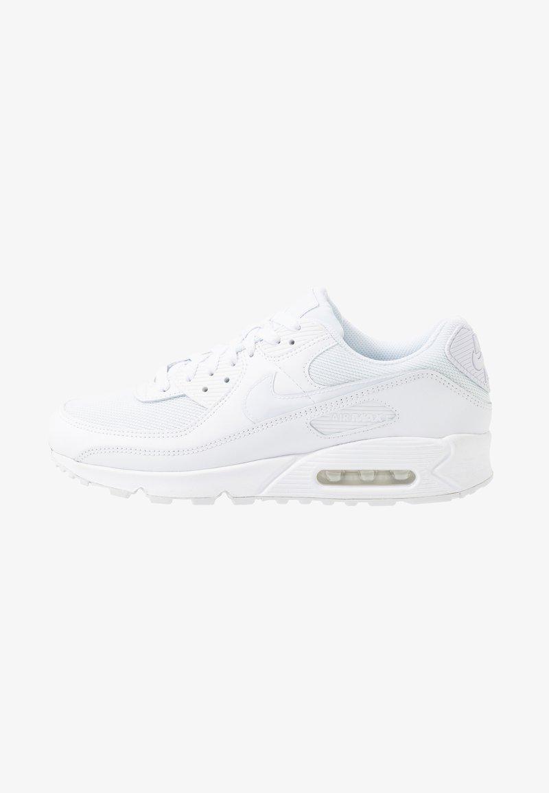 Nike Sportswear - AIR MAX 90 - Matalavartiset tennarit - white