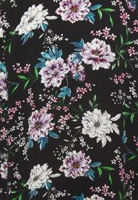 JDY - JOSEPHINE LONG KIMONO - Summer jacket - black/white/blue - 6