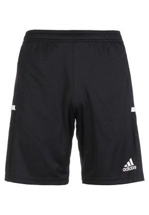 TEAM 19 3-POCKET TRAININGSSHORT HERREN - Sports shorts - black / white