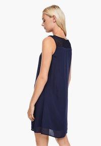 s.Oliver - Day dress - dark blue - 2