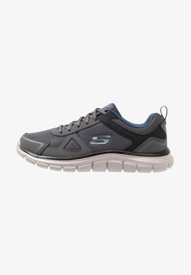 TRACK SCLORIC - Trainers - grey/navy