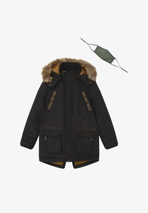 OMERI - Zimní kabát - black