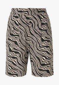 TOM TAILOR - Shorts - black wavy design - 5
