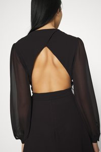 NU-IN - BALOON SLEEVE MINI DRESS - Cocktail dress / Party dress - black - 5