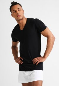 Puma - 2 PACK - Undershirt - black - 1