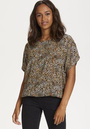 KAJULIA  - Blouse - chalk - small leopard print