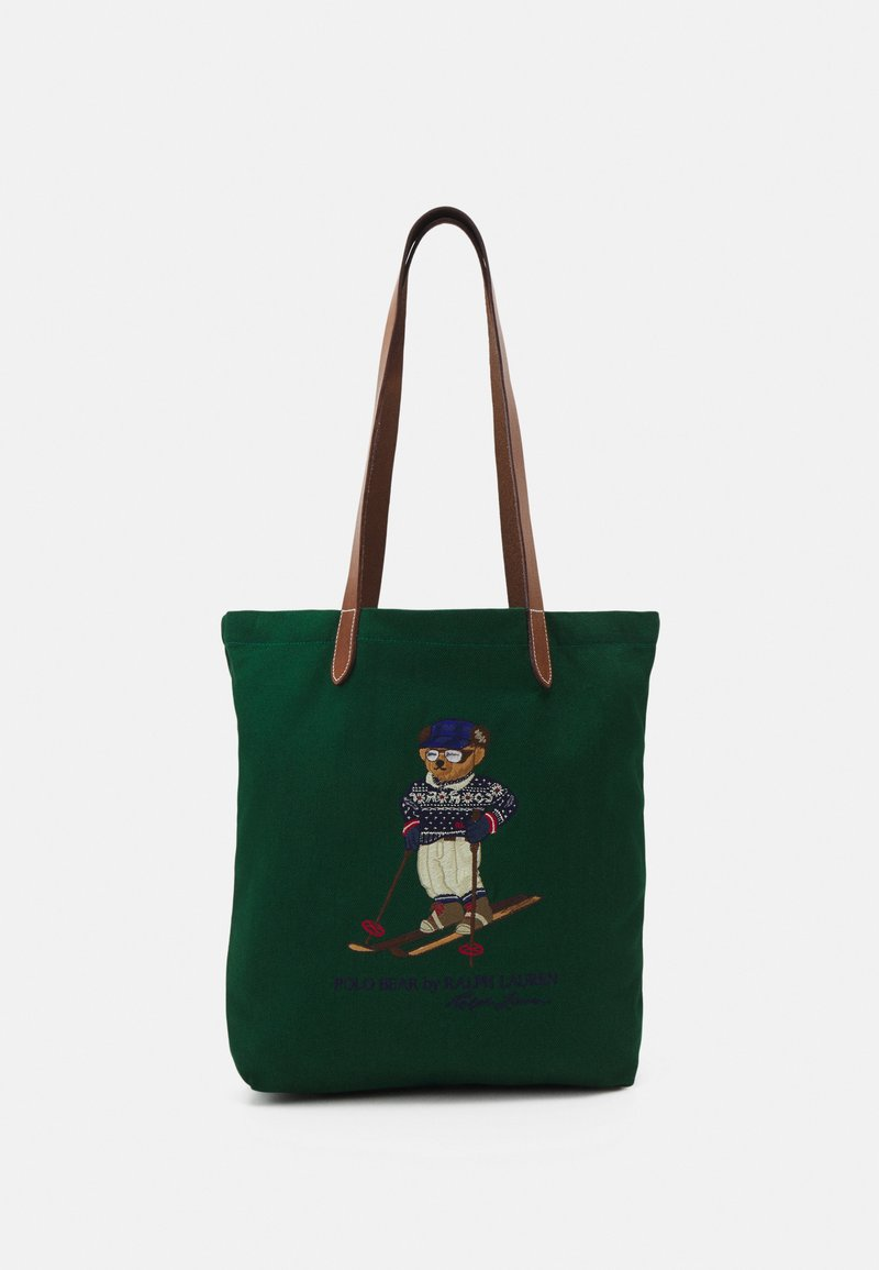 Polo Ralph Lauren - HOLIDAY GIFTING TOTE SMALL UNISEX - Tote bag - green