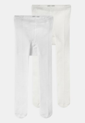 BABY 2 PACK UNISEX - Tights - white/off-white