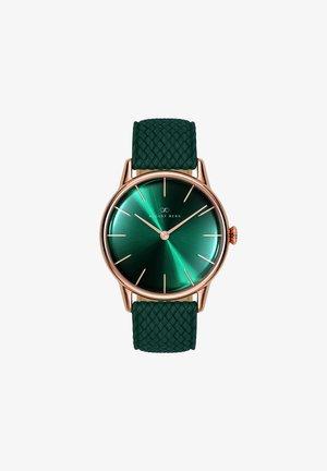 UHR SERENITY GREENHILL DARK GREEN PERLON 32MM - Horloge - sunray green