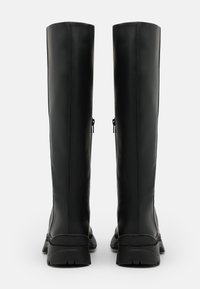 Selected Femme - SLFLUCY HIGH SHAFTED BOOT  - Plateaulaarzen - black/matte - 3