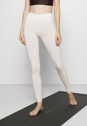 WAVES - Leggings - cream
