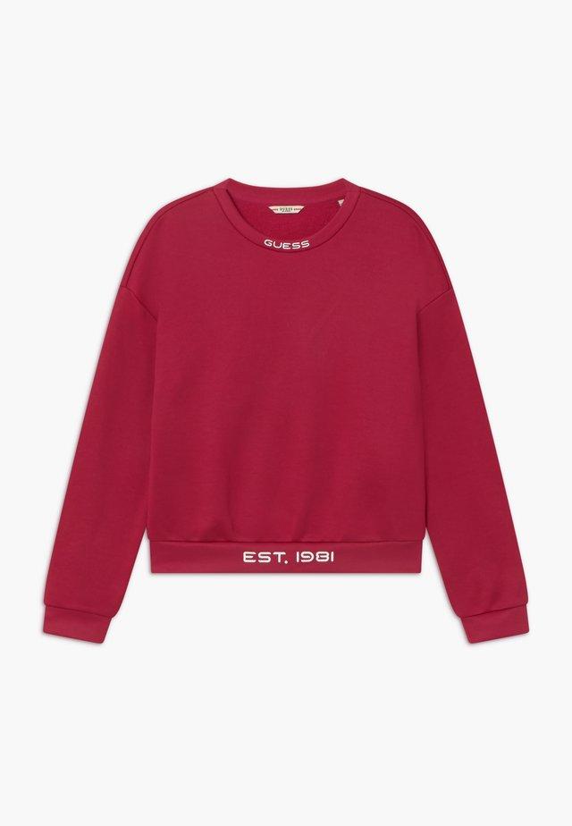 JUNIOR GLOW IN THE DARK - Sweatshirt - disco pink