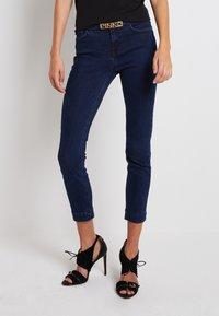 Pinko - SABRINA TROUSERS - Jeans Skinny Fit - dark blue - 0