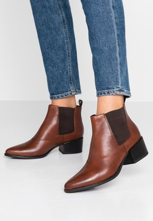 MARJA - Ankle boots - brandy