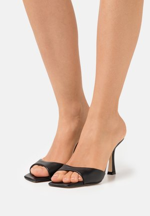 SEALA - Heeled mules - black
