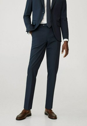 Suit trousers - marineblau